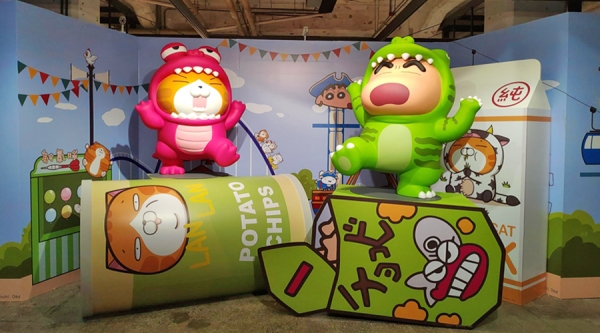Pop-Up Store / Crayon Shin-Chan X Lan Lan Cat